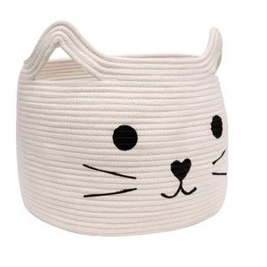 Other - Large Woven Cotton Rope Storage Basket, Laundry